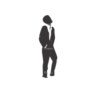 Fashion Men Pack 12 Preview Clip Art - SVG & PNG vector