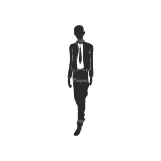 Fashion Men Pack 13 Preview Clip Art - SVG & PNG vector