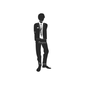 Fashion Men Pack 14 Preview Clip Art - SVG & PNG vector