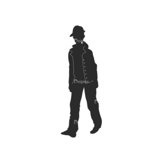Fashion Men Pack 16 Preview Clip Art - SVG & PNG vector
