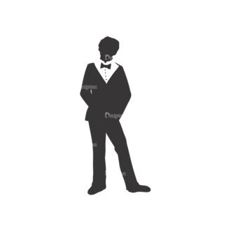 Fashion Men Pack 2 Preview Clip Art - SVG & PNG vector
