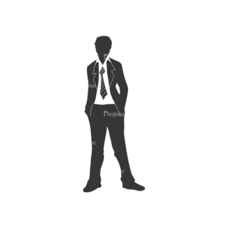 Fashion Men Pack 4 Preview Clip Art - SVG & PNG vector
