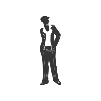 Fashion Men Pack 5 Preview Clip Art - SVG & PNG vector