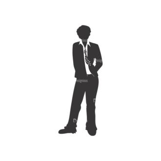 Fashion Men Pack 9 Preview Clip Art - SVG & PNG vector