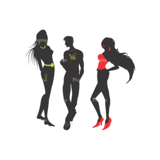 Fashion Pack 10 Preview Clip Art - SVG & PNG vector