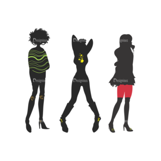 Fashion Pack 2 Preview Clip Art - SVG & PNG vector