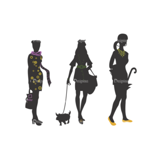 Fashion Pack 9 Preview Clip Art - SVG & PNG vector