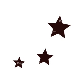 Fashion Vector Elements Set 1 Vector Stars 04 Clip Art - SVG & PNG vector