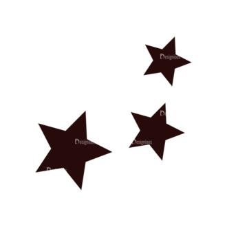 Fashion Vector Elements Set 1 Vector Stars 12 Clip Art - SVG & PNG vector