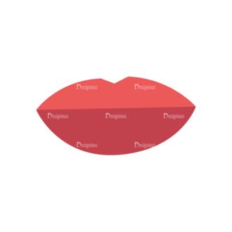 Fashion Vector Set 2 Vector Lip Clip Art - SVG & PNG vector