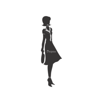 Fashion Women Pack 1 Preview Clip Art - SVG & PNG vector