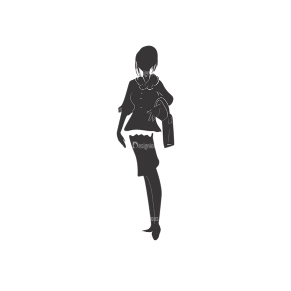 Fashion Women Pack 10 Preview Clip Art - SVG & PNG vector