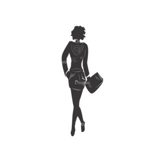 Fashion Women Pack 12 Preview Clip Art - SVG & PNG vector