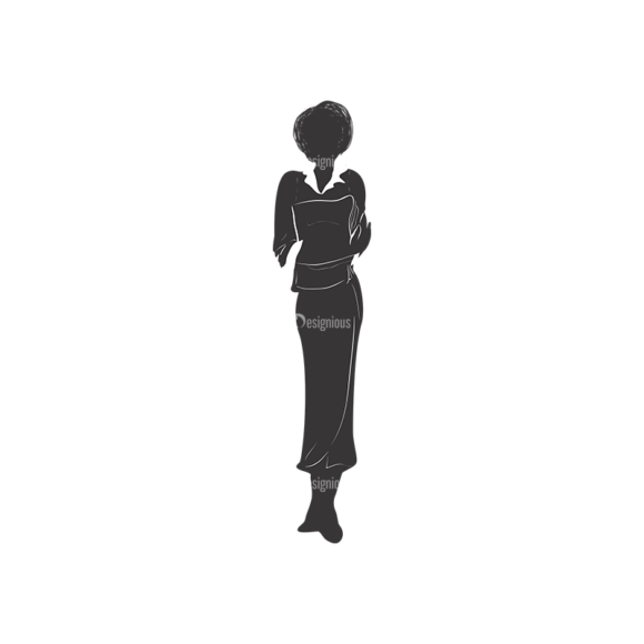 Fashion Women Pack 13 Preview Clip Art - SVG & PNG vector