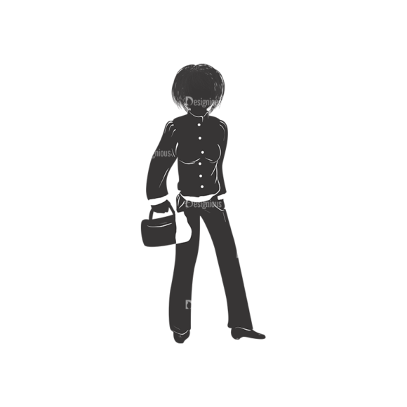 Fashion Women Pack 14 Preview Clip Art - SVG & PNG vector