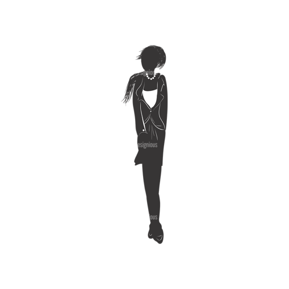 Fashion Women Pack 15 Preview Clip Art - SVG & PNG vector