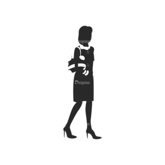 Fashion Women Pack 19 Preview Clip Art - SVG & PNG vector