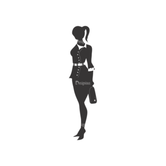 Fashion Women Pack 2 Preview Clip Art - SVG & PNG vector