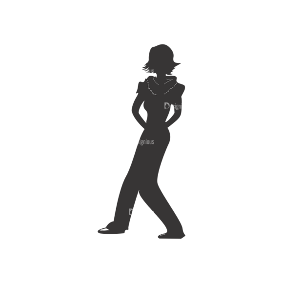 Fashion Women Pack 20 Preview Clip Art - SVG & PNG vector