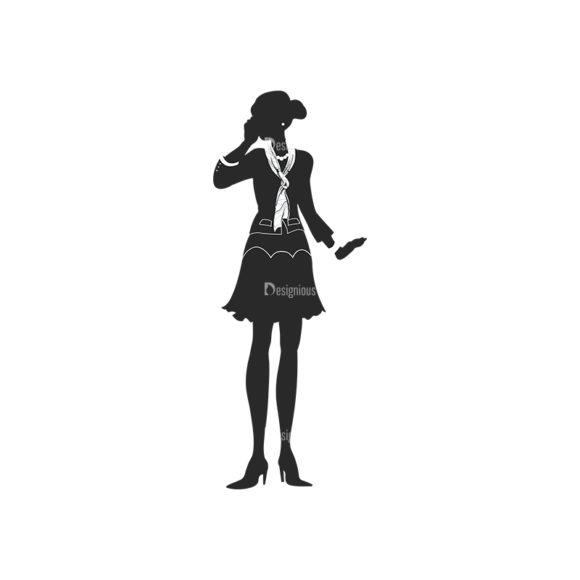 Fashion Women Pack 21 Preview Clip Art - SVG & PNG vector