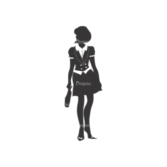 Fashion Women Pack 3 Preview Clip Art - SVG & PNG vector