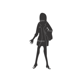 Fashion Women Pack 8 Preview Clip Art - SVG & PNG vector