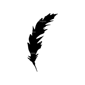 Feathers Set 11 Vector Feather 04 Clip Art - SVG & PNG vector