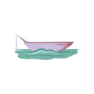 Fishing Vector Set 1 Vector Boat Clip Art - SVG & PNG vector