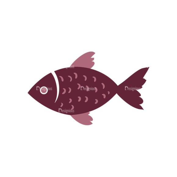 Fishing Vector Set 1 Vector Fish 03 Clip Art - SVG & PNG vector