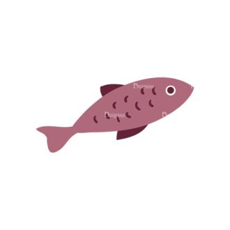 Fishing Vector Set 1 Vector Fish 06 Clip Art - SVG & PNG vector