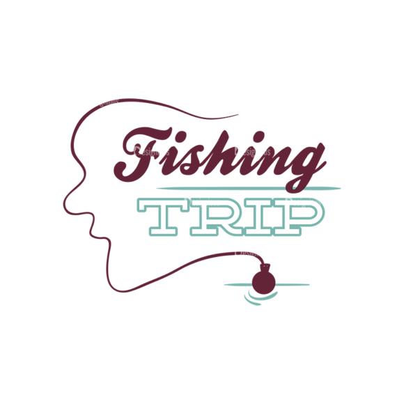 Fishing Vector Set 1 Vector Fishing Trip Text fishing vector set 1 vector fishing trip text