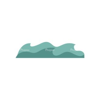 Fishing Vector Set 1 Vector Wave Clip Art - SVG & PNG wave
