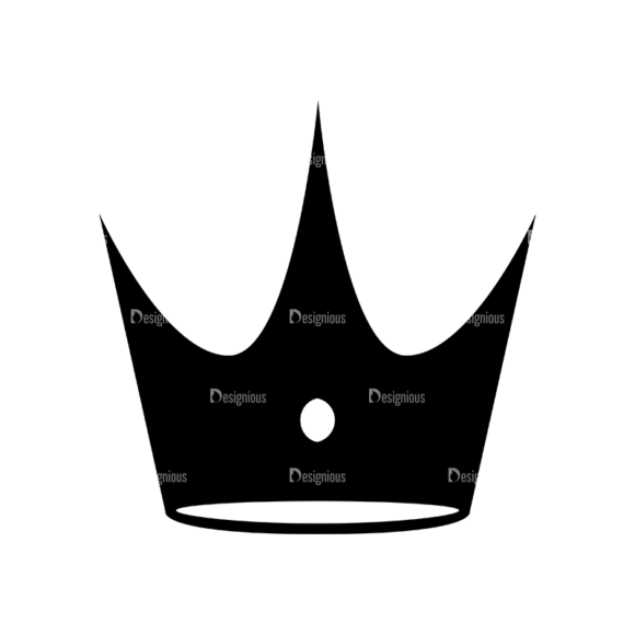 Flat Crown Icons Set 2 Vector Crown 01 5