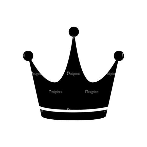 Flat Crown Icons Set 2 Vector Crown 02 flat crown icons set 2 vector crown 02