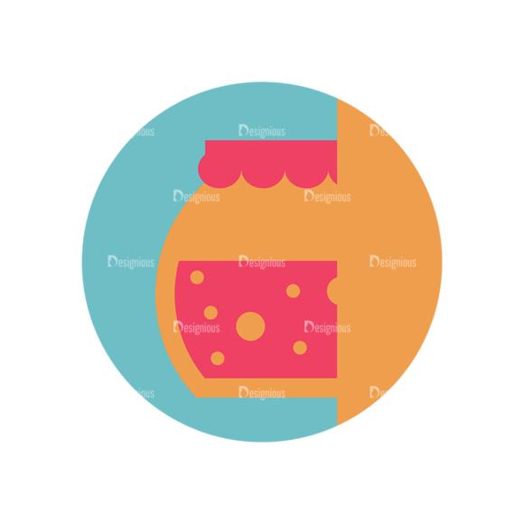 Flat Icons Set 5 Vector Jar Clip Art - SVG & PNG vector