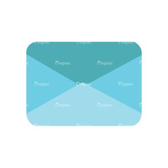 Flat Icons Vector Set 1 Vector Letter 05 Clip Art - SVG & PNG vector