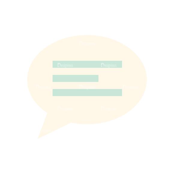Flat Icons Vector Set 1 Vector Speech Bubble 01 Clip Art - SVG & PNG vector
