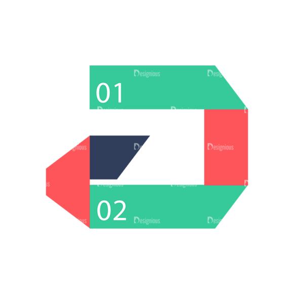 Flat Infographics Set 2 Vector Infographics 03 Clip Art - SVG & PNG vector