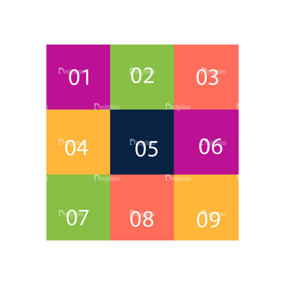Flat Infographics Set 4 Vector Infographics 04 Clip Art - SVG & PNG vector