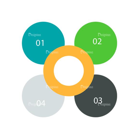 Flat Infographics Set 5 Vector Infographics 09 Clip Art - SVG & PNG vector