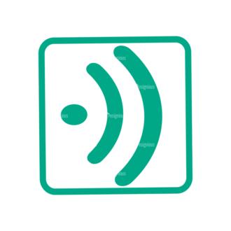 Flat Mobile Devices Concept Set 1 Vector Bluetooth Clip Art - SVG & PNG vector