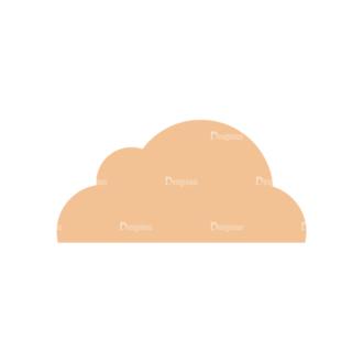 Flat Mobile Devices Concept Set 1 Vector Cloud Clip Art - SVG & PNG vector