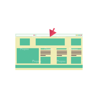 Flat Mobile Devices Concept Set 1 Vector Window Clip Art - SVG & PNG vector