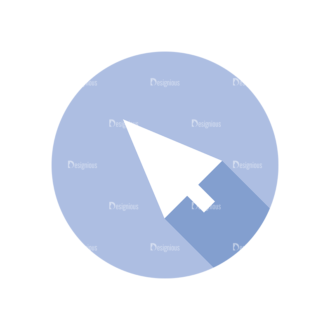 Flat Modern Icons Vector Set 3 Vector Arrow Clip Art - SVG & PNG vector
