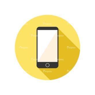 Flat Modern Icons Vector Set 3 Vector Cellphone Clip Art - SVG & PNG vector