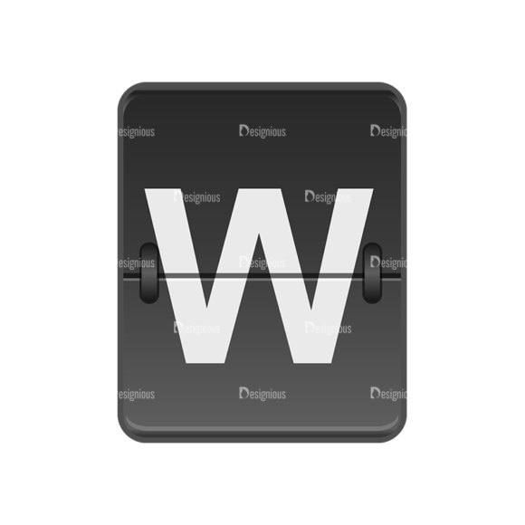 Flip Displays Set Vector 24 Clip Art - SVG & PNG vector