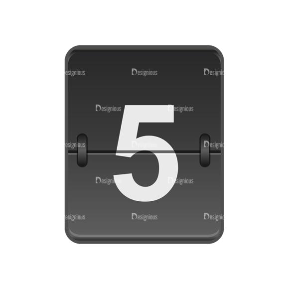 Flip Displays Set Vector 36 Clip Art - SVG & PNG vector