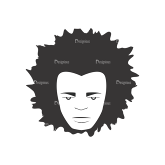 Funky Faces Pack 10 Preview Clip Art - SVG & PNG vector