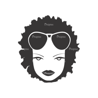 Funky Faces Pack 11 Preview Clip Art - SVG & PNG vector