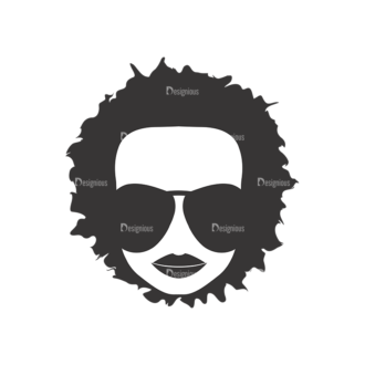 Funky Faces Pack 12 Preview Clip Art - SVG & PNG vector